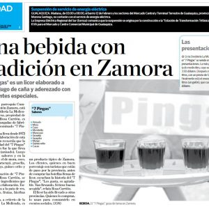 Una bebida con tradición en Zamora