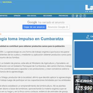 La agroecología toma impulso en Cumbaratza