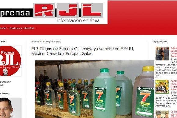 El 7 Pingas ya se bebe en Norte Américay Europa